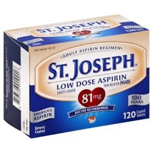 ST JOSEPH ASP 81MG ENTERC TAB