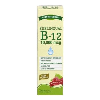 Sublingual B-12