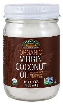 Virgin Coconut Oil in Glass
