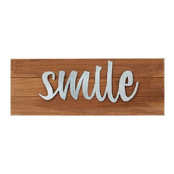 Smile Tabletop Plaque