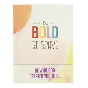 Be Bold Pocket Notepad