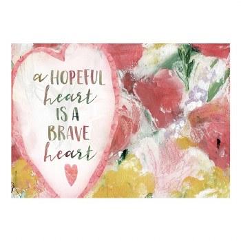 Hopeful Heart Postcard