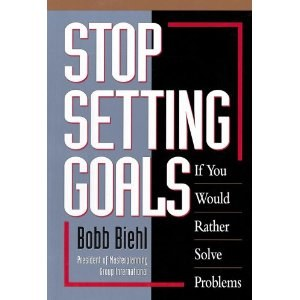 Stop Setting Goals Book