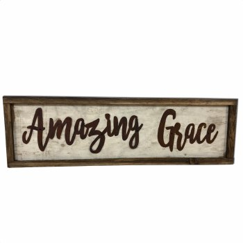 Amazing Grace Framed Decor
