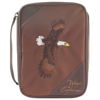 THINLINE EAGLE BROWN BIBLECASE