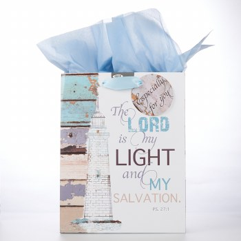 Lord Is My Light Gift Bag Med