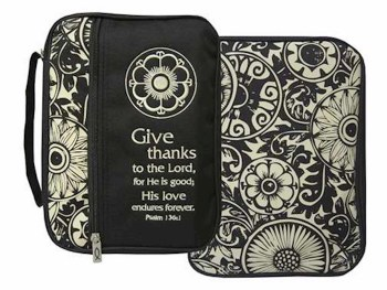 Give Thanks Bible Cover L
