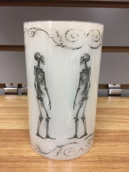 Skeleton Wax Candle LED Flame