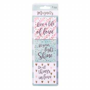 Live a Life of Love Magnet Set