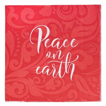 Peace on Earth Christmas Paper
