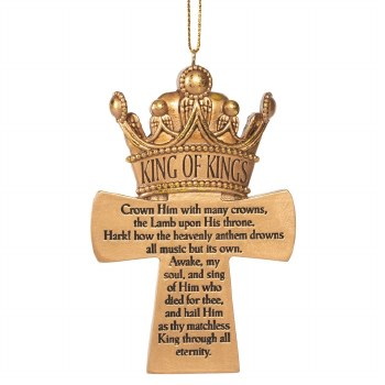 ORNAMENT CROWN HIM WITH MANY