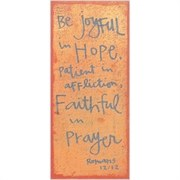 Be Joyful Plaque
