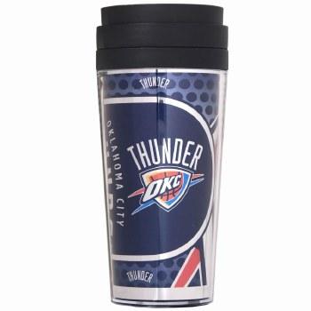 NBA Thunder Plastic Tumbler