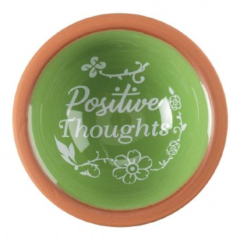 Positive Thoughts Terra Cotta