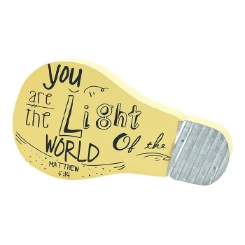 YOU ARE THE LIGHT TABLE PLQ