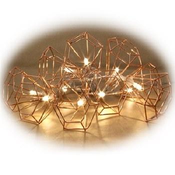 Lumenesce Copper Cone Lights
