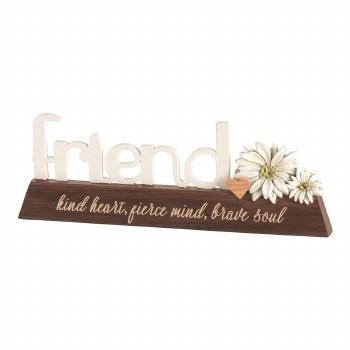 Friend Word Figurine