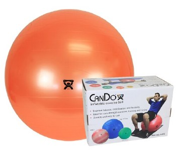 """CanDo Exercise Ball 22"""" Orange"""