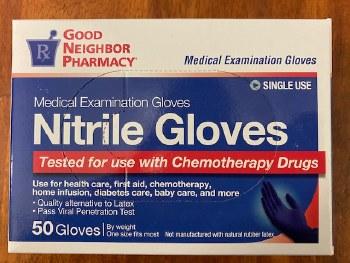 GNP Nitrile Glove #50 one size