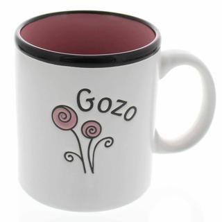 Joy Pink Taza Stoneware Mug