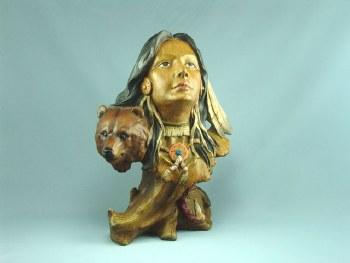 Southwest Indian Bust