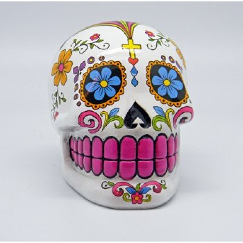 Sugar Skull Bank white