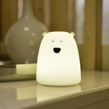 Polar Bear Silicone Lamp