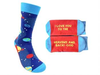 "Socks ""Heavens And Back"""