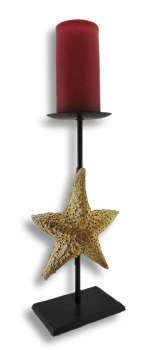 STAR FISH CANDLEHOLDER