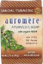 Aauromere Sandal-Turmeric Soap