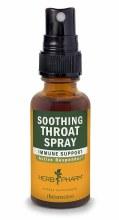 HP soothing throat spray 1oz