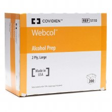 Webcol Alcohol Pad 200ct large