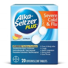 Alka Seltzer Plus Cold/Flu 20