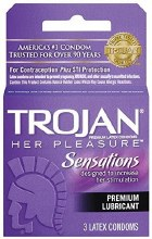 Trojan Her Pleasure 3pk