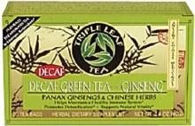 TL Decaf Green Tea w/ ginseng