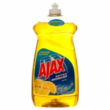 AJAX LIQ DISH LEMON 52OZ