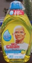 Mr Clean Liq Muscle Lemon 30oz