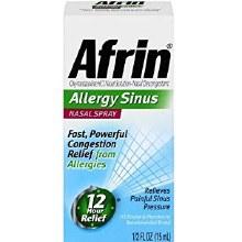 Afrin sinus nasal spy 15 ml