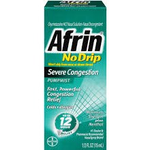 AFRIN NO DRIP S/CN MENTHL SPY