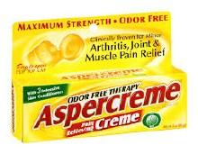 Aspercreme crm 3 oz