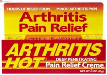 Arthritis hot crm 3 oz