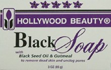 HB black soap 3oz