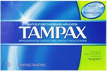 Tampax Super Unscent 10ct