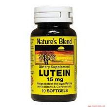 N/b lutein 15 mg sgt 60