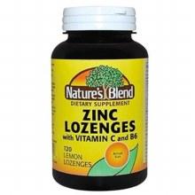 N/b zinc lozn w/c lemon tab120