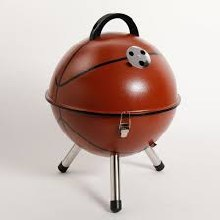 BBQ GRILL CHARCOAL BASKETBALL