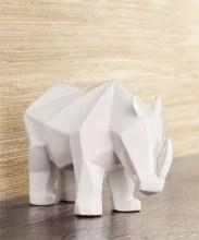 White rhino figurine