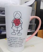 Time To Smile Super Mom Mug