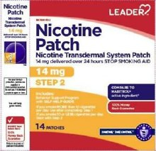 Leader Nicotine 14mg Step 2