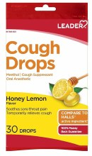 LDR Cough Drops Lemon 30